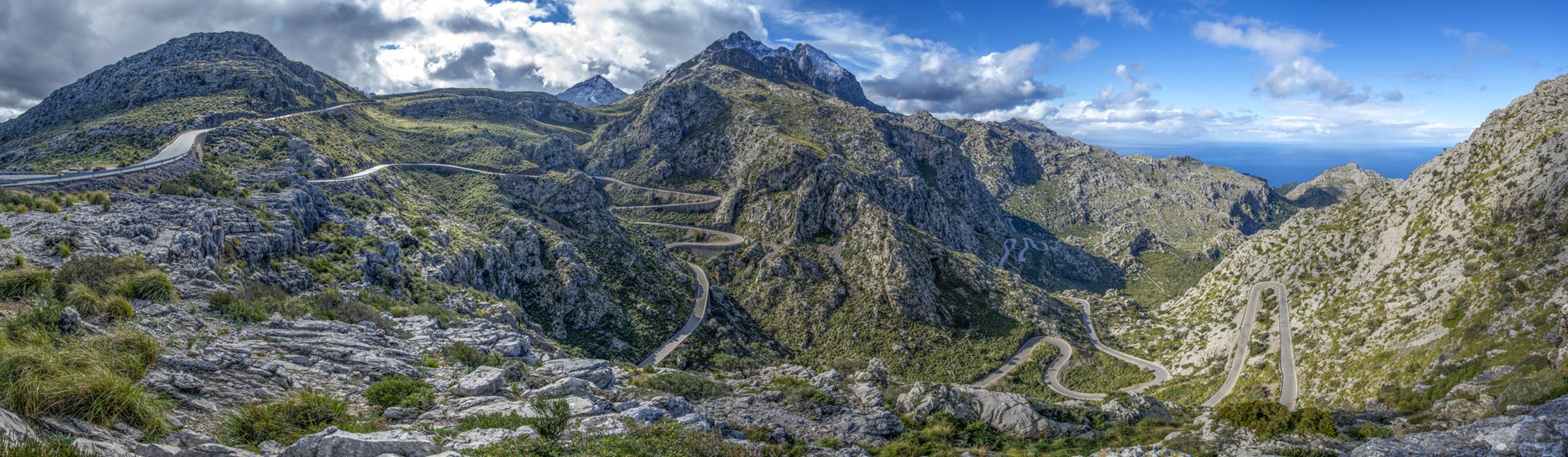Berglandschaft in Mallorca