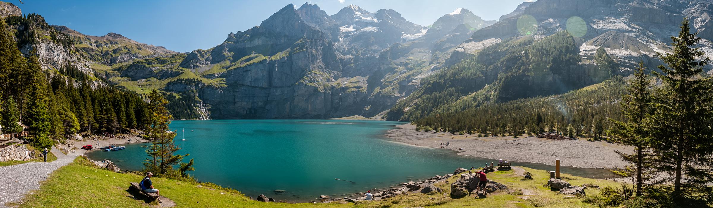 Panoramaufnahme Schweiz