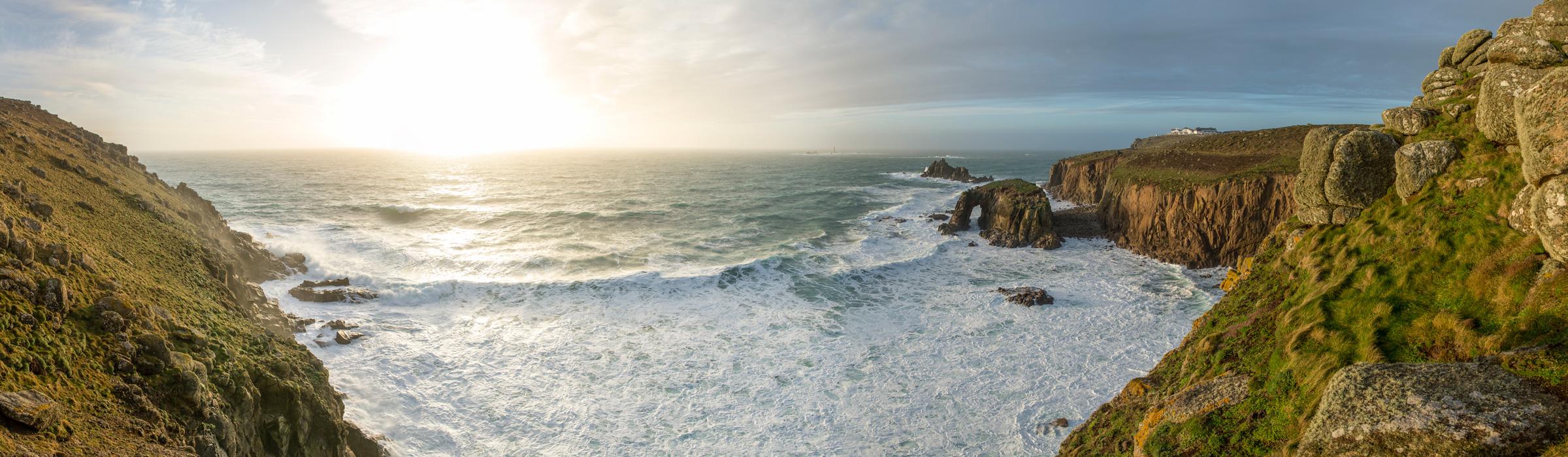 Panorama - Fotoreise Cornwall