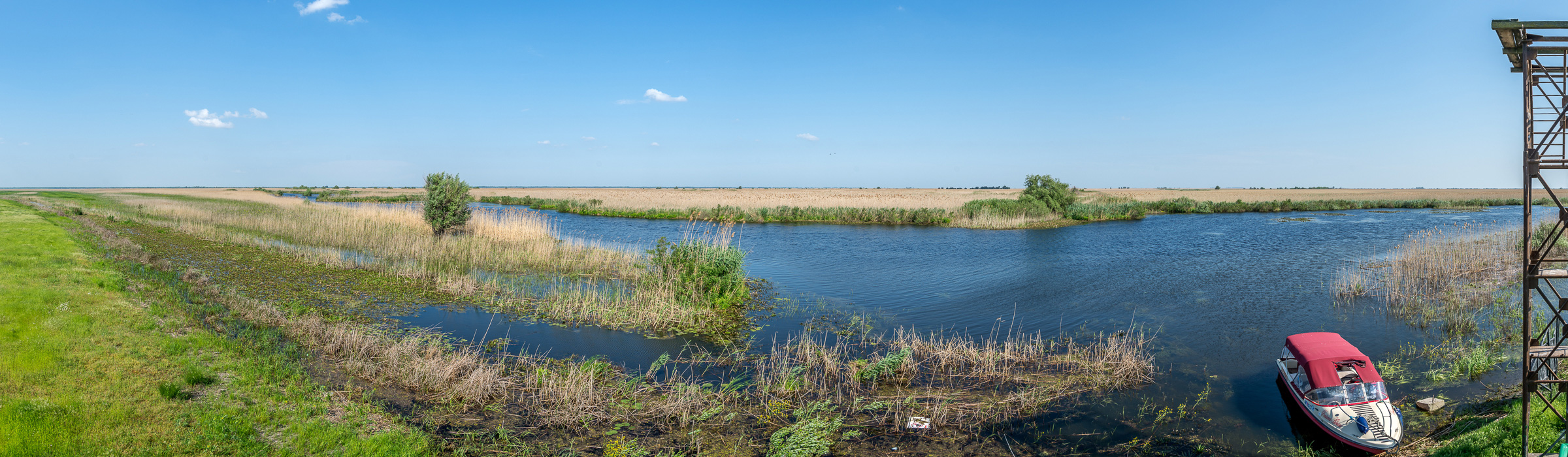Landschaft im Donaudelta