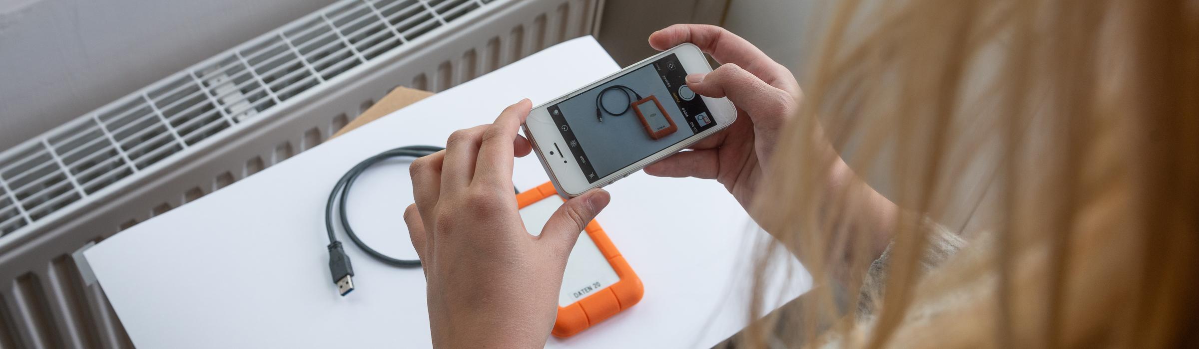 Produkte fotografieren lernen mit dem Handy!